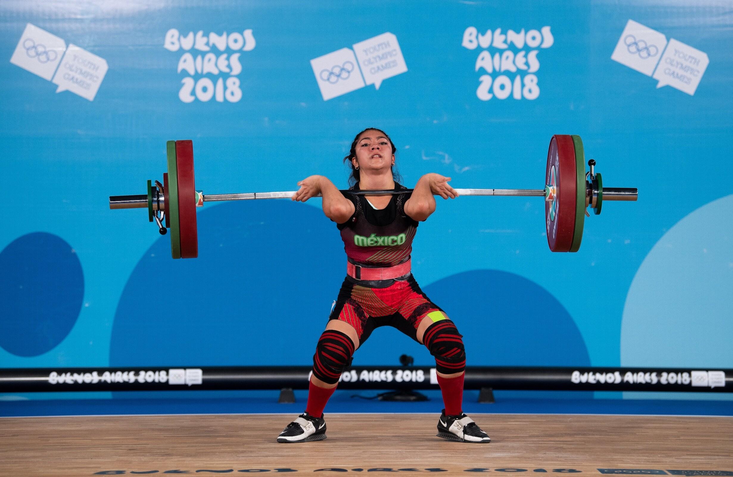 Buenos Aires 2018 - Haltérophilie - 48 kg femmes