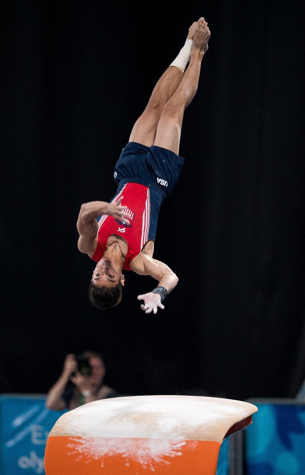 Buenos Aires 2018 - Gymnastique artistique - Saut hommes