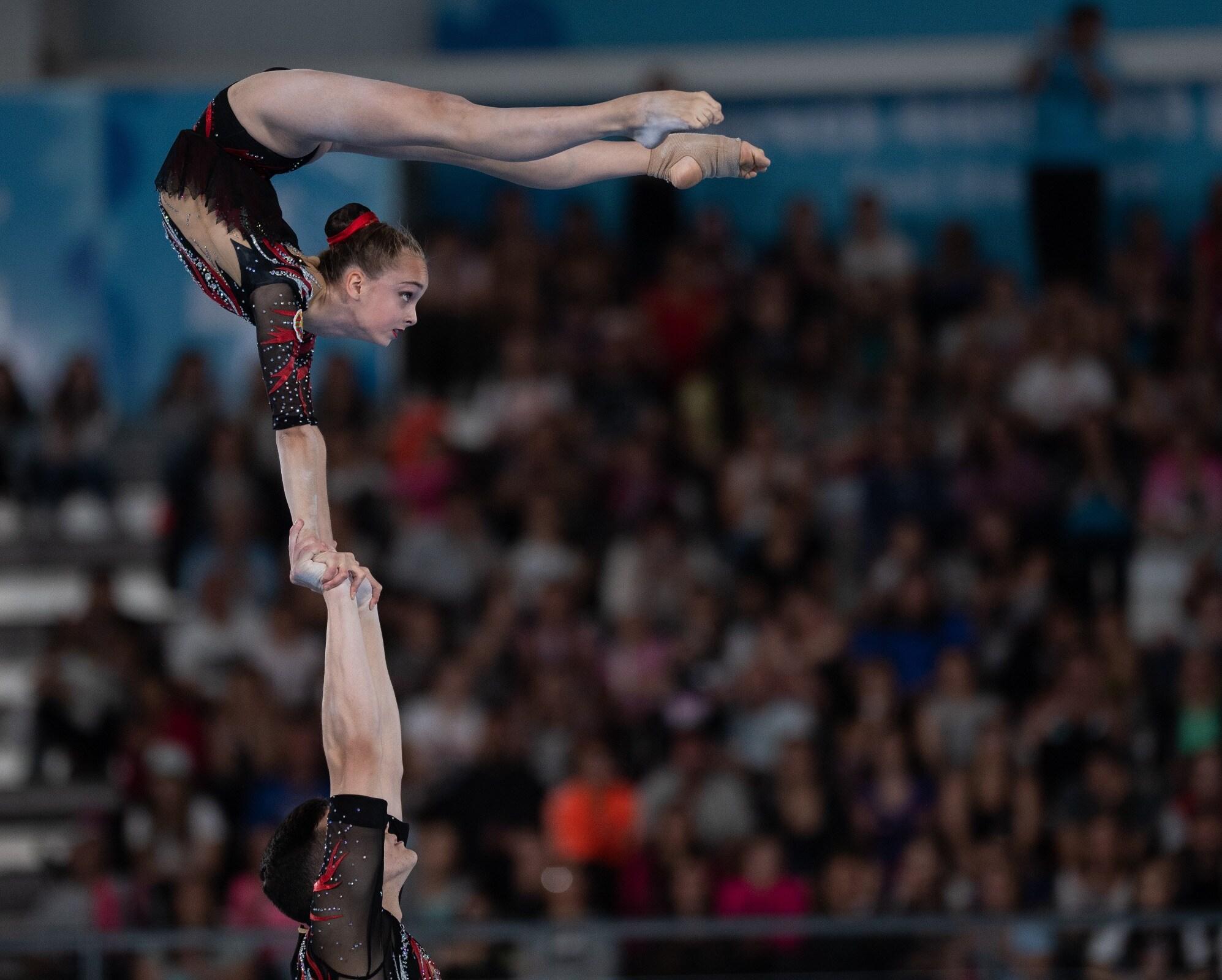 Buenos Aires 2018 - Gymnastique acrobatique - Couple mixte