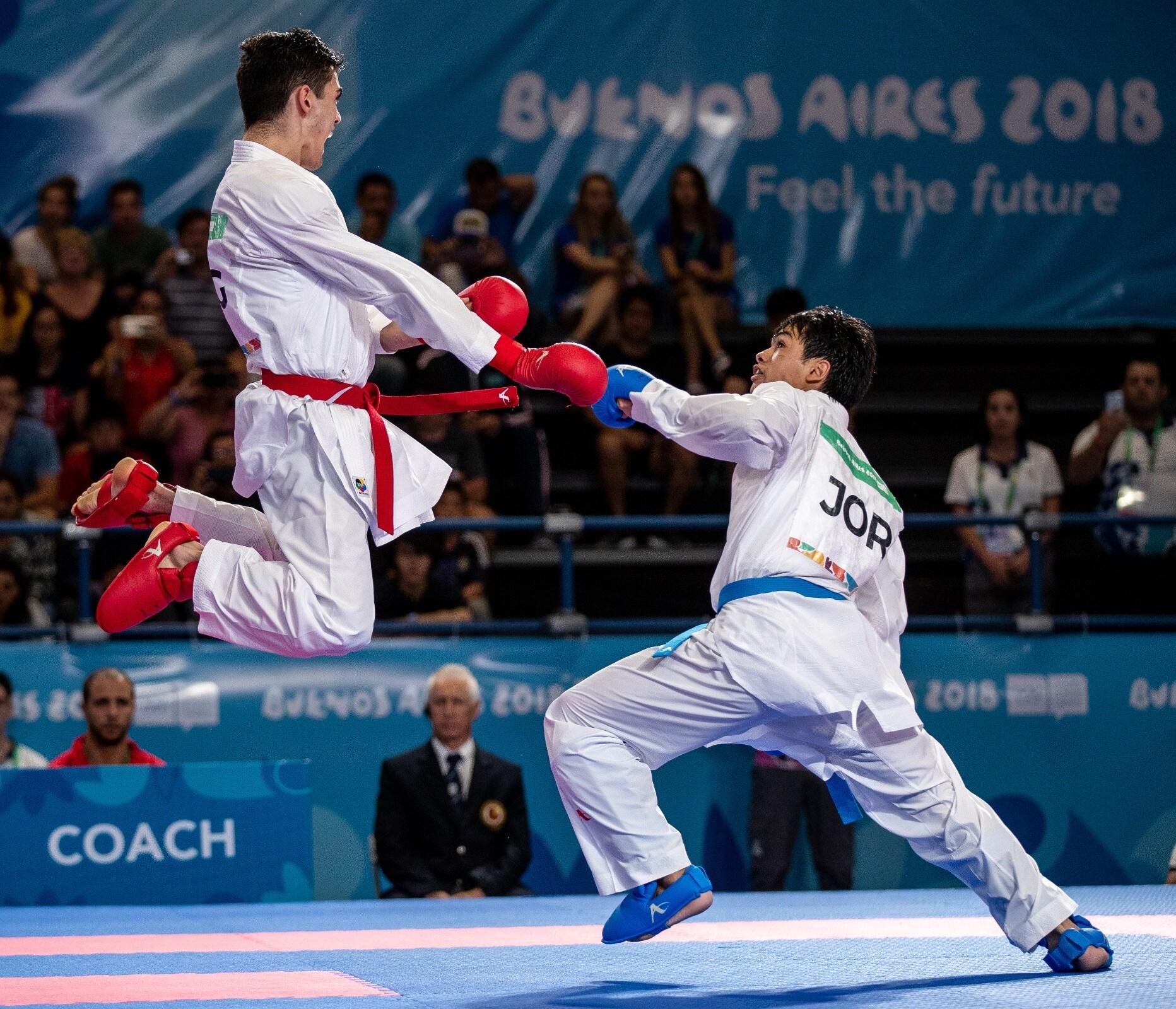 Buenos Aires 2018 - Karate Kumite - Men's -61kg